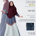 Gamis Premium Hai-Hai GM-69 Deep Red