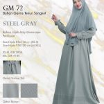 Gamis Premium Hai-Hai GM-72 Steel Grey