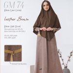 Gamis Premium Hai-Hai GM-74 Leather Brown