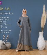Gamis Kopel Nibras NB-A51 Shadow Blue