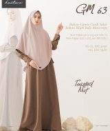 Gamis Premium Hai-Hai GM-63 Toasted Nut