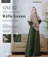 Gamis Premium Hai-Hai GM-82 Rifle Green