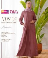 Gamis Nibras NDS-002 Lavender