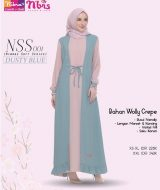 Gamis Nibras NSS-001 Dusty Blue