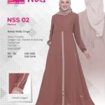 Gamis Nibras NSS-002 Mocca