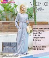 Gamis Nibras N-ICES-001 Abu