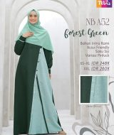 Gamis Nibras NB-A52 Forest Green