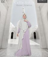 Gamis Premium Hai-Hai GM-88 Dove Purple