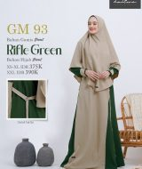 Gamis Premium Hai-Hai GM-93 Rifle Green