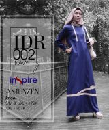 Dress Gamis Inspire IDR-002 Navy