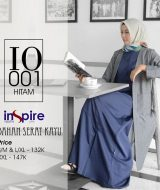 Outer Muslimah Inspire IO-001 Hitam