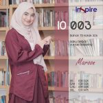 Outer Muslimah Inspire IO-003 Maroon