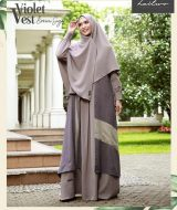 Gamis Premium Hai-Hai GM-90 Brown Sugar