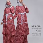 Gamis Nibras NFS-004 Coral