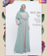 Gamis Nibras NGC-001 Dusty Blue