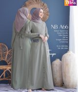 Gamis Nibras NB A66 Taupe