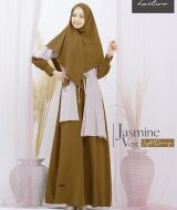 Gamis Premium Hai-Hai GM-97 Light Orange