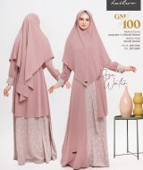 Gamis Premium Hai-Hai GM-100 Rose Water