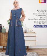 Gamis Nibras NB A78 Clasic Blue