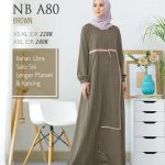 Gamis Nibras NB A80 Brown