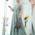 Gamis Nibras NB A83 Milky Green
